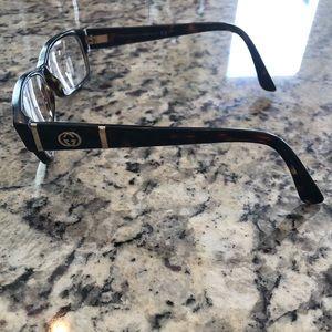 Gucci tortoise shell eyeglasses